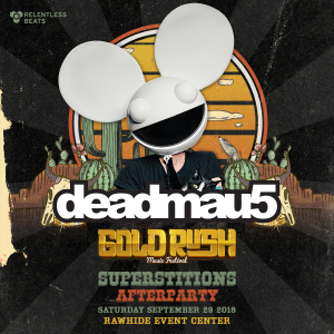 Deadmau5 - Goldrush 2018 Superstitions Afterparty (Day 1) on 09/30/18