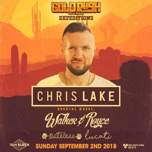 Chris Lake + Walker & Royce - Goldrush Expeditions on 09/02/18