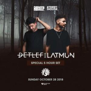 Detlef b2b Latmun - 5 Hour Set on 10/28/18