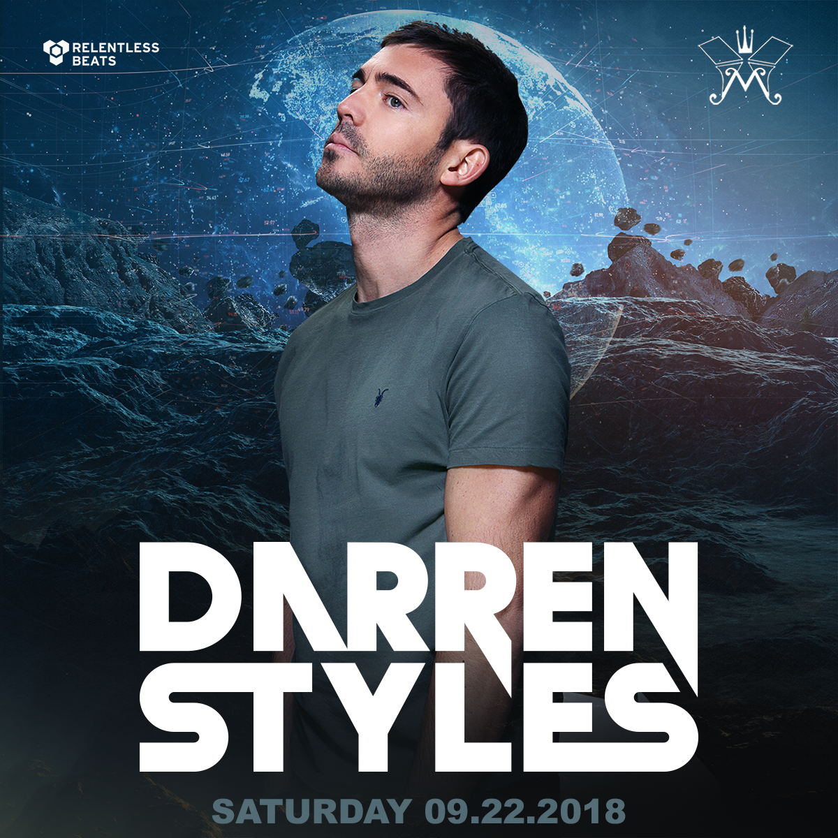Flyer for Darren Styles