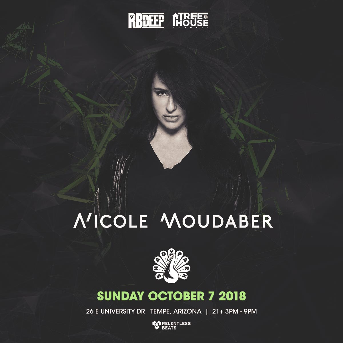 Flyer for Nicole Moudaber