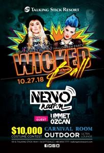 Wicked Ball 2018 ft. Nervo & Ummet Ozcan on 10/27/18