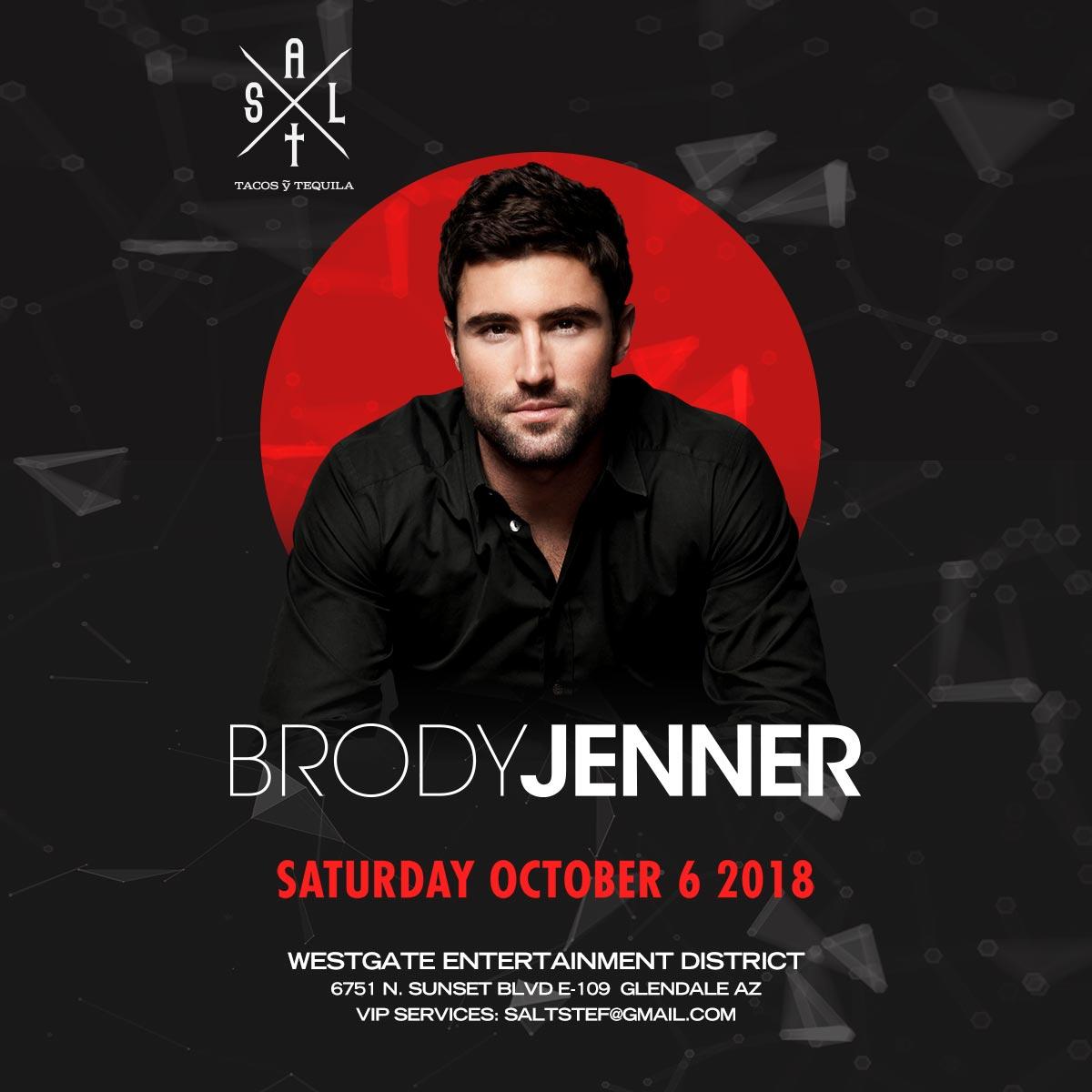 Flyer for Brody Jenner