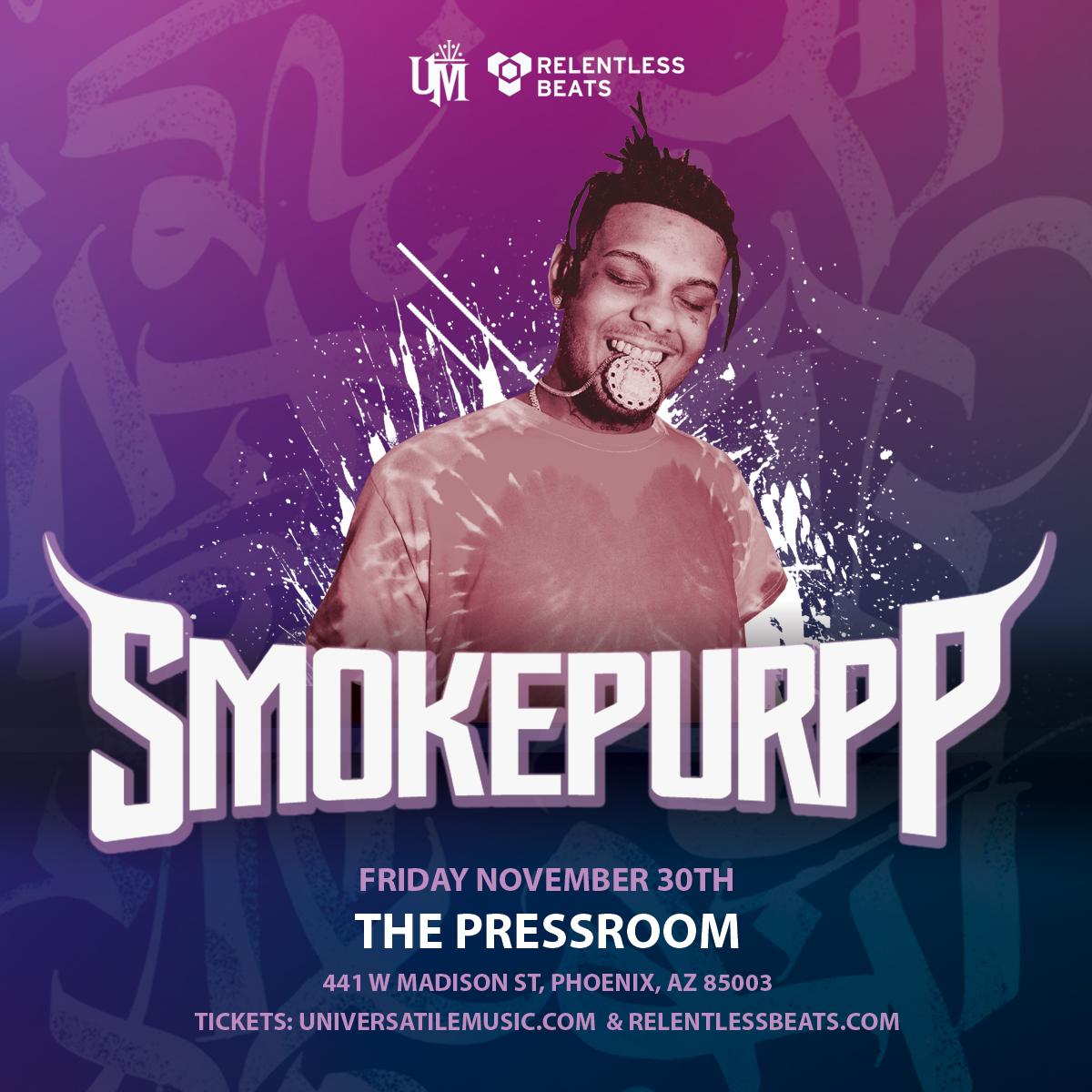 Flyer for Smokepurpp