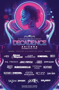 Decadence Arizona 2018 on 12/30/18