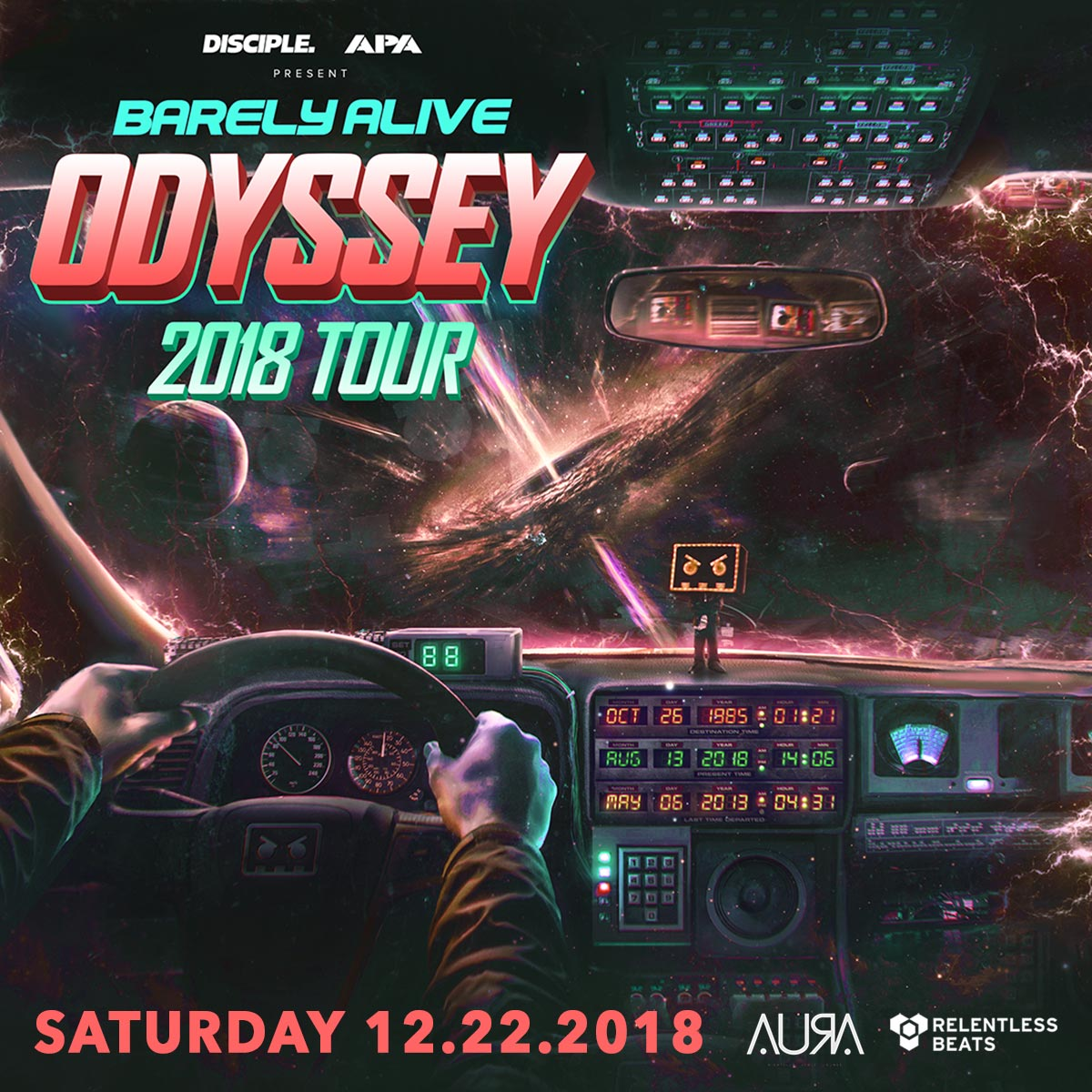 Flyer for Barely Alive