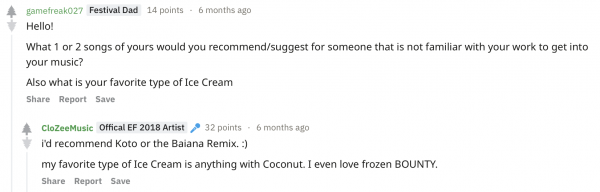 What We Learned from CloZee's Reddit AMA | Relentless Beats