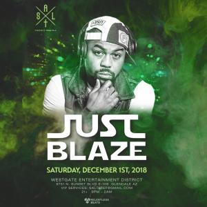 Just Blaze on 12/01/18