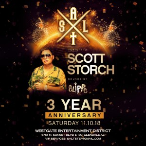 Scott Storch - Salt 3 Year Anniversary on 11/10/18