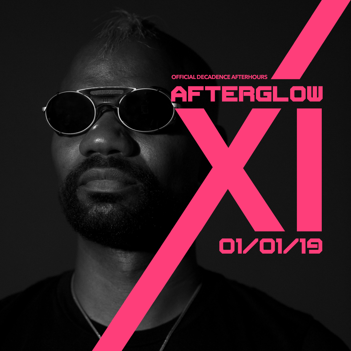 Flyer for Afterglow XI ft. Green Velvet - Decadence Arizona Afterparty