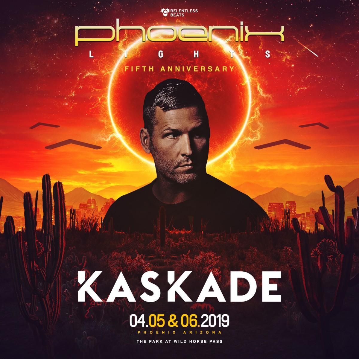Flyer for Phoenix Lights 2019