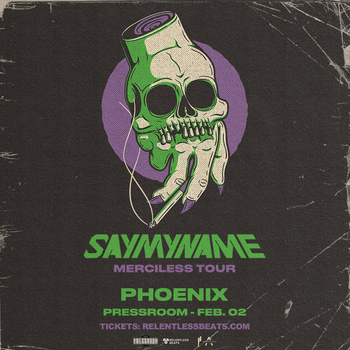 Flyer for SayMyName
