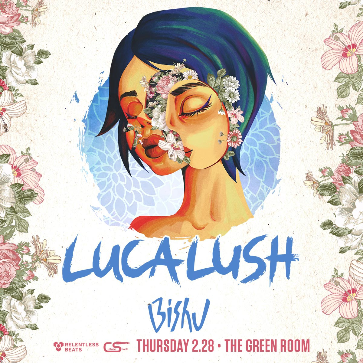 Flyer for Luca Lush
