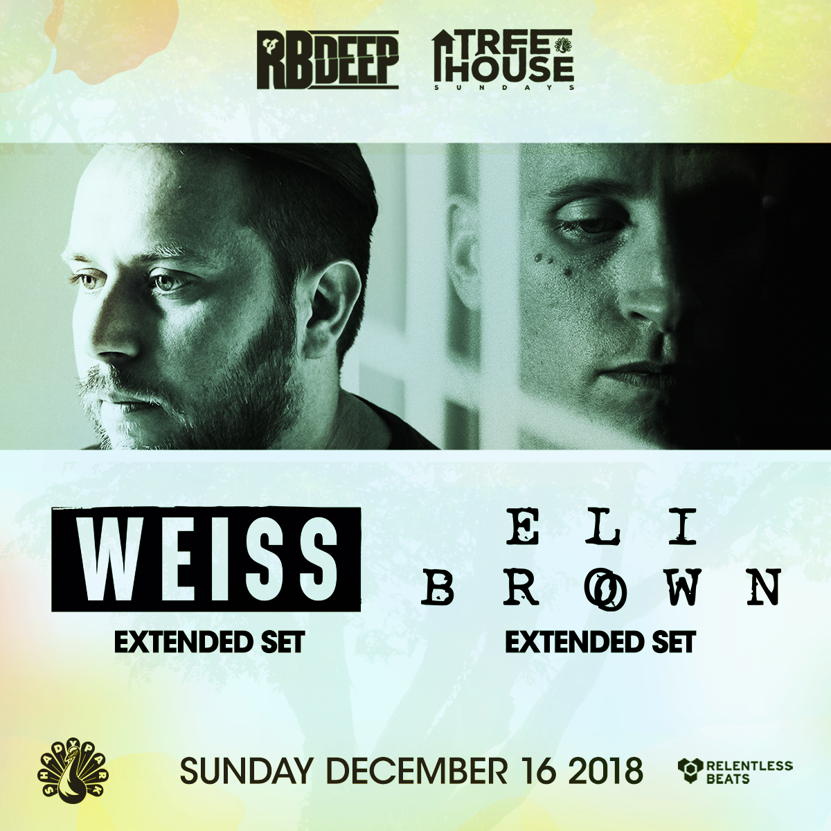 Flyer for Weiss & Eli Brown (Extended Sets)