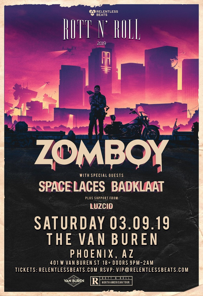 Flyer for Zomboy