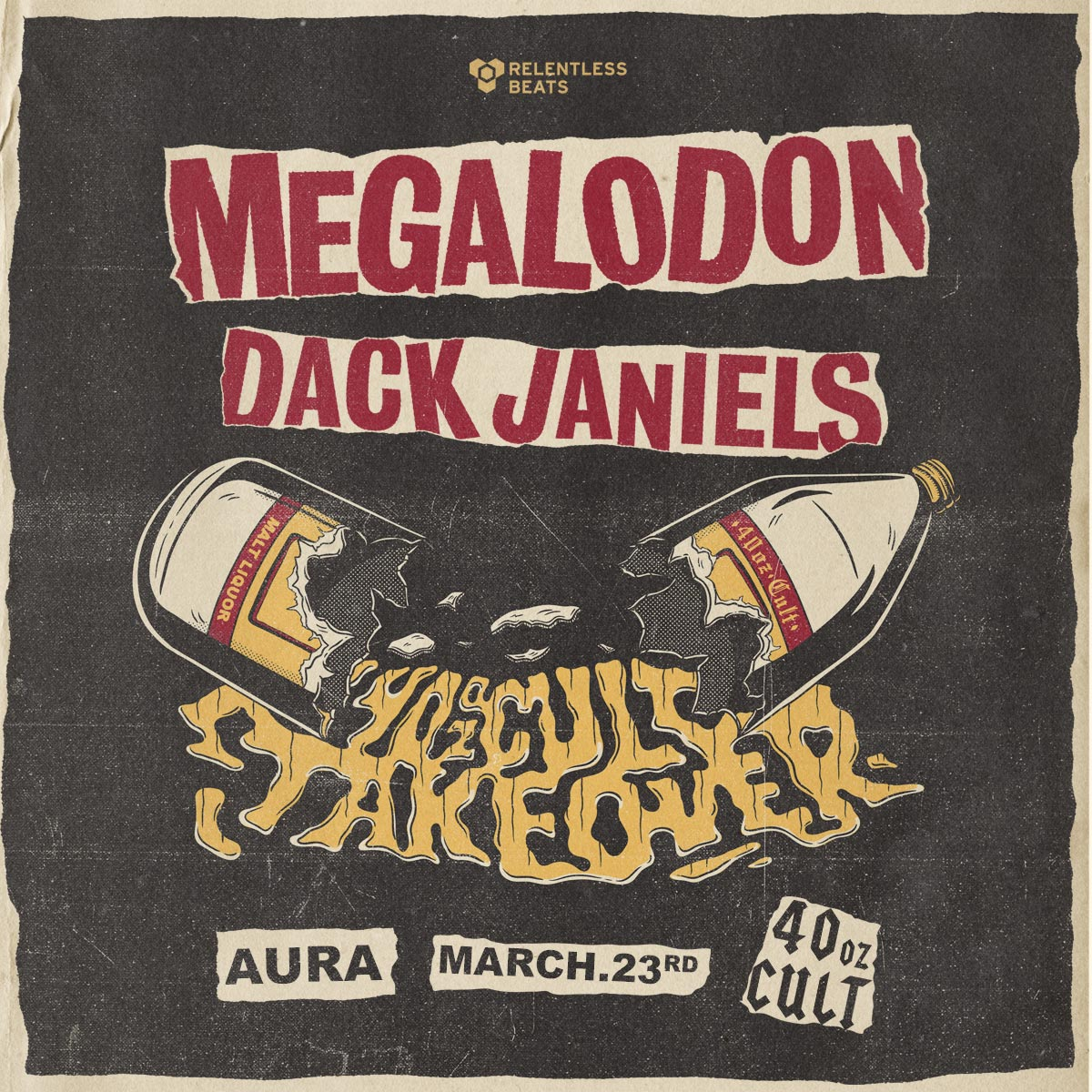 Flyer for Megalodon + Dack Janiels