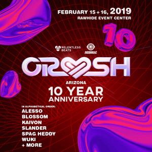 Crush Arizona 2019 - 10 Year Anniversary on 02/15/19