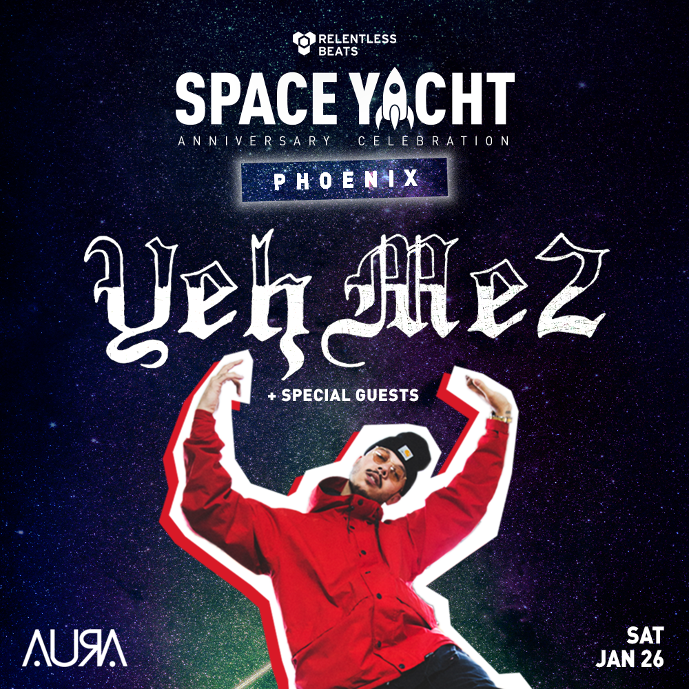 Flyer for Space Yacht Phoenix ft. YehMe2