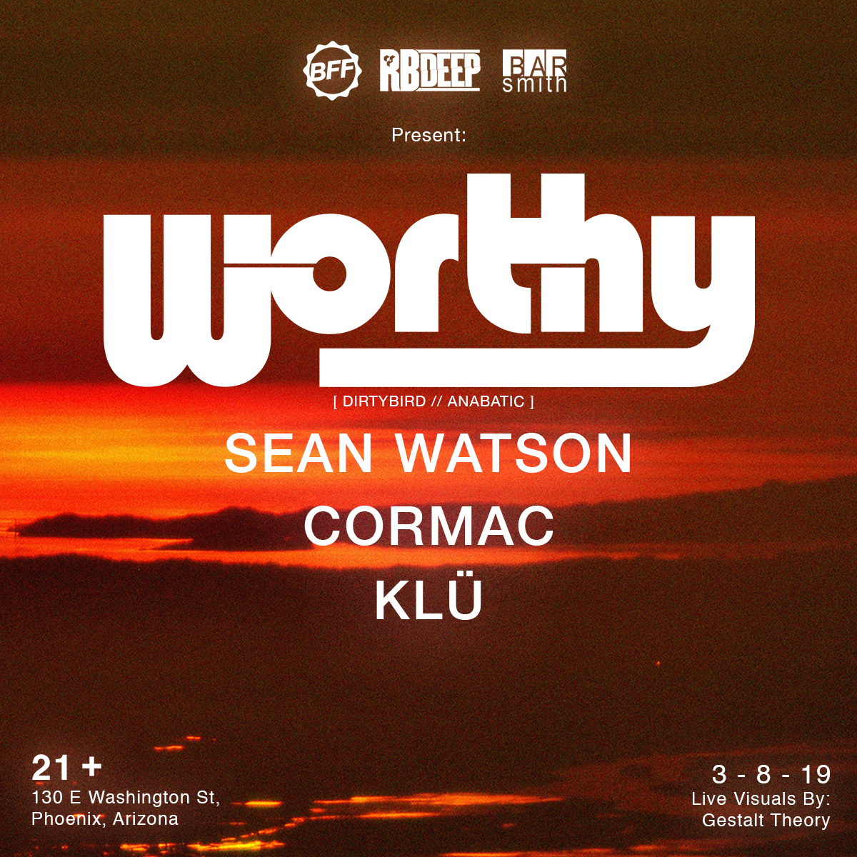 Flyer for Worthy
