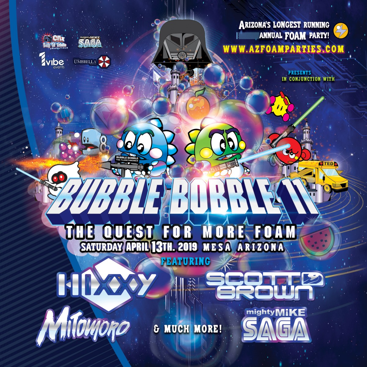 Flyer for Bubble Bobble 11