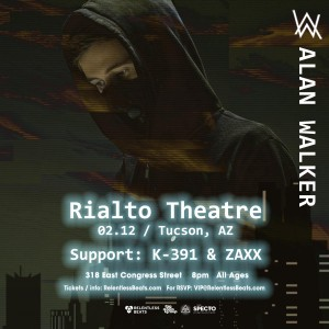 Alan Walker on 02/12/19