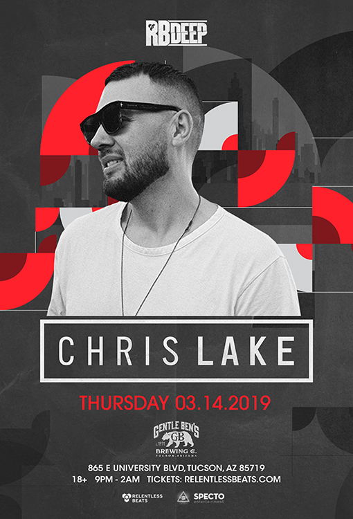 Flyer for Chris Lake