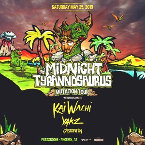 Midnight Tyrannosaurus on 05/25/19