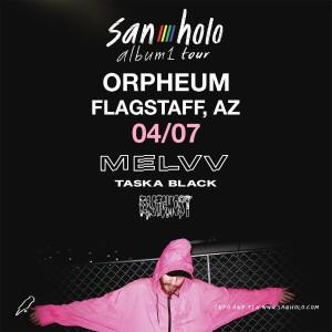 San Holo on 04/07/19