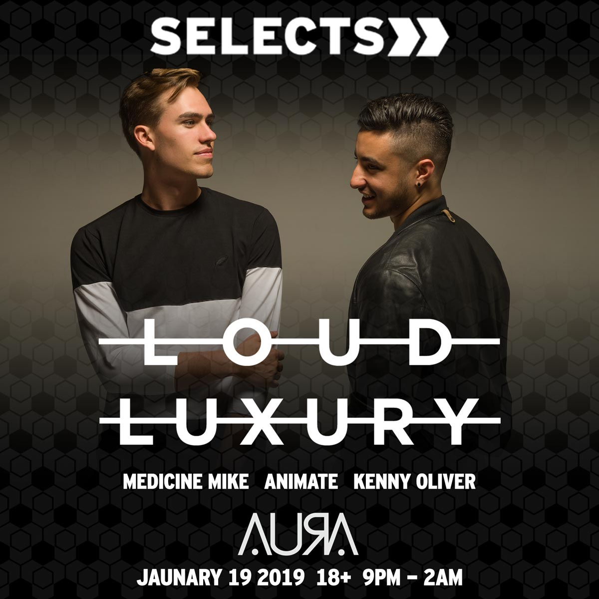 Flyer for Loud Luxury at Selects