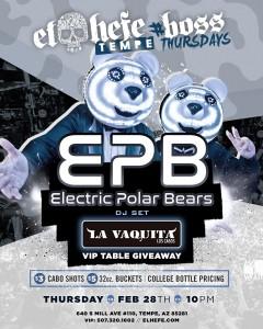 Electric Polar Bears on 02/28/19