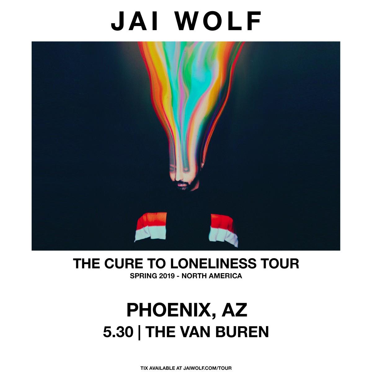Flyer for Jai Wolf