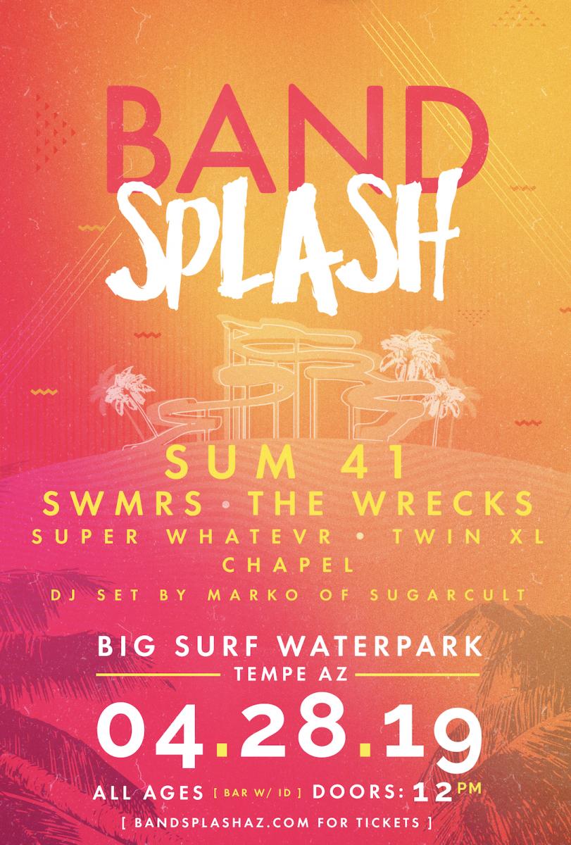 Flyer for Band Splash