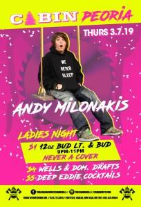 Andy Milonakis on 03/07/19