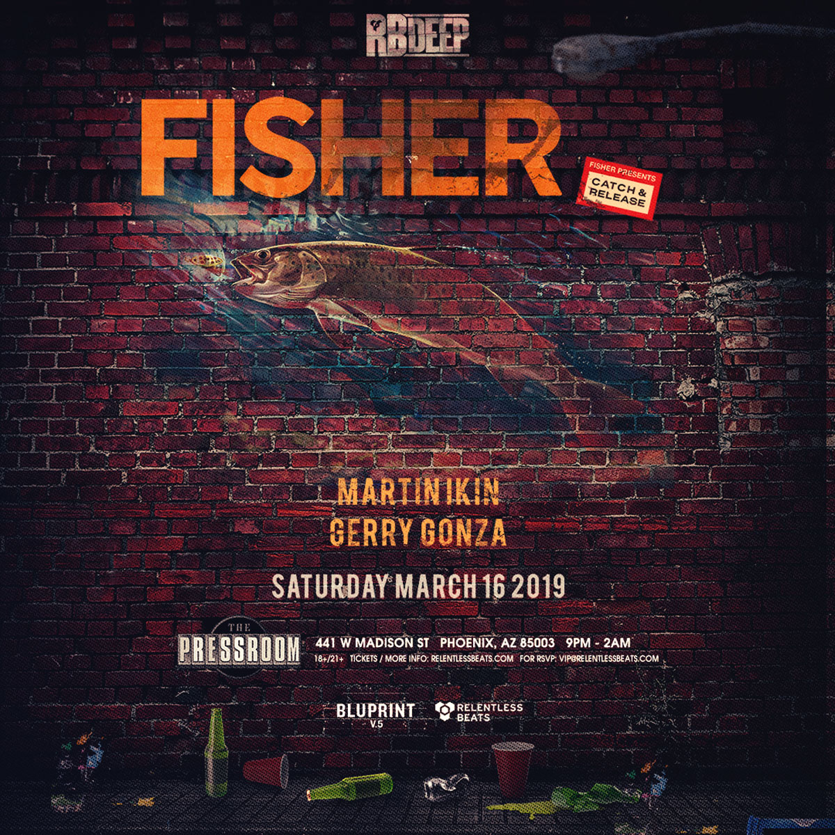 Flyer for Fisher