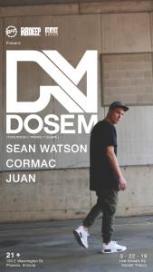 Dosem on 03/22/19