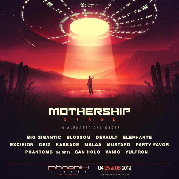 PhoenixLights2019_MothershipStage
