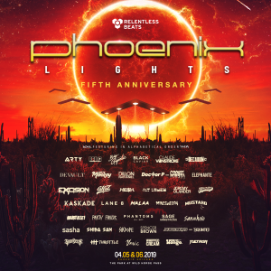 Phoenix Lights 2019 on 04/05/19
