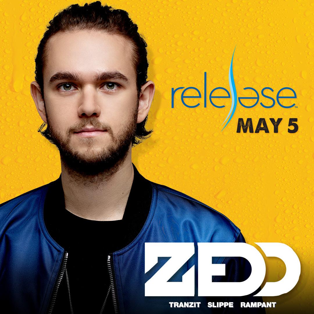 Flyer for Zedd