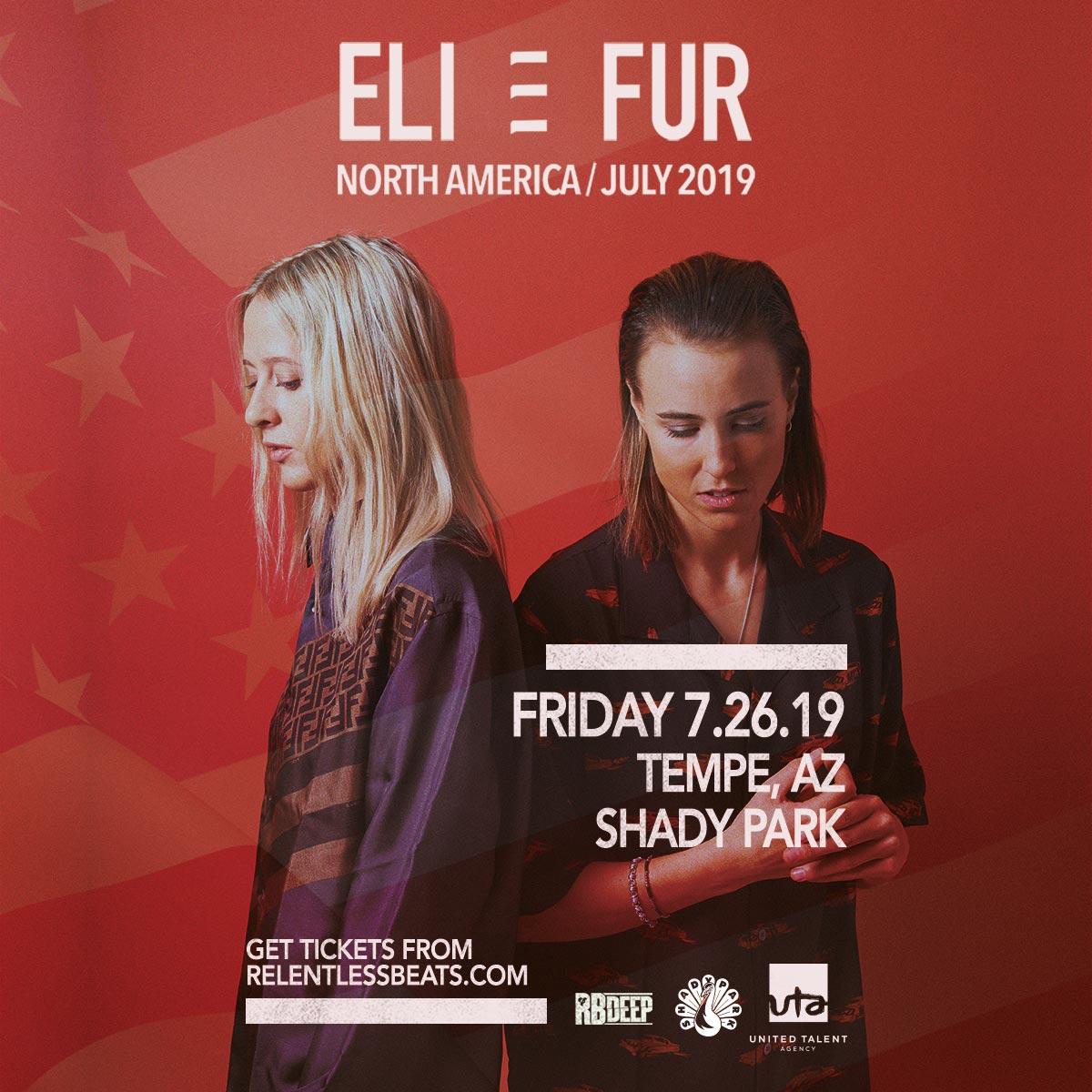 Flyer for Eli & Fur
