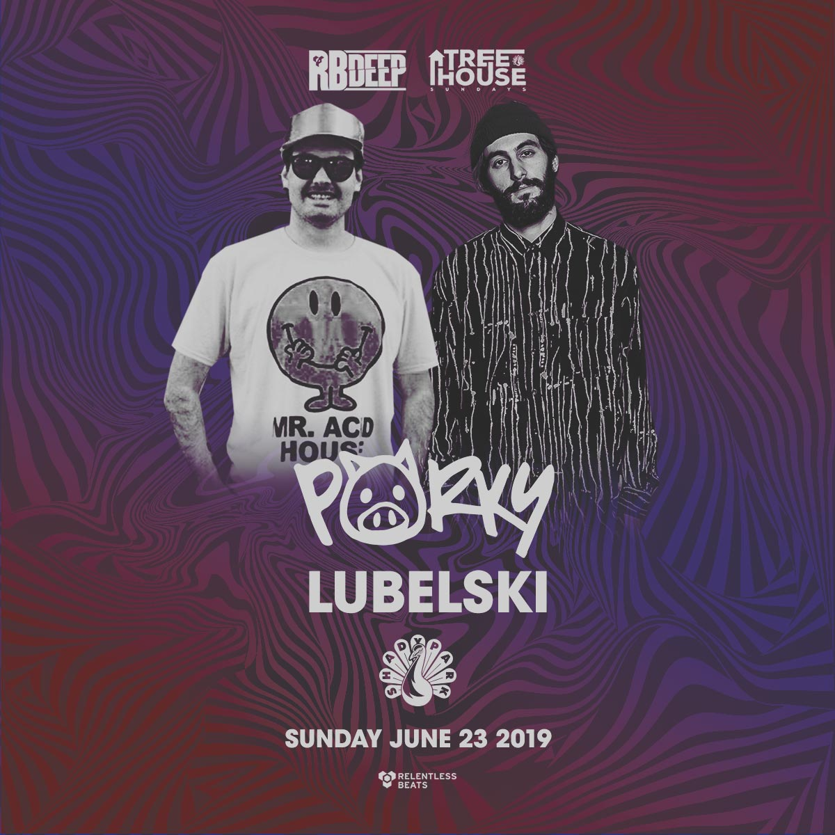 Flyer for Porky & Lubelski