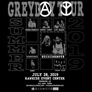 $uicideboy$ on 07/28/19