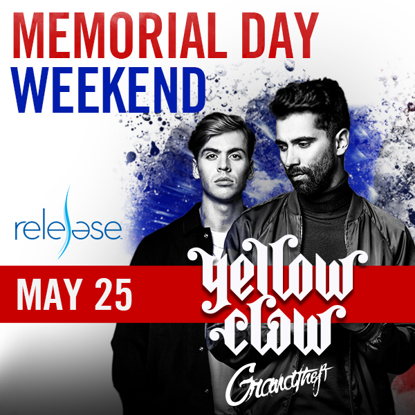 Flyer for Yellow Claw