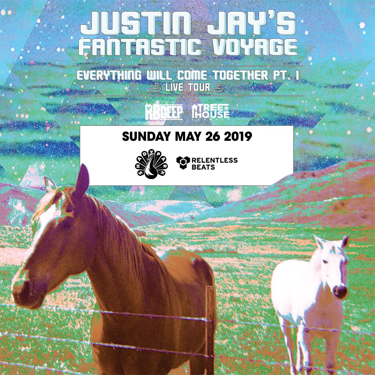 Flyer for Justin Jay