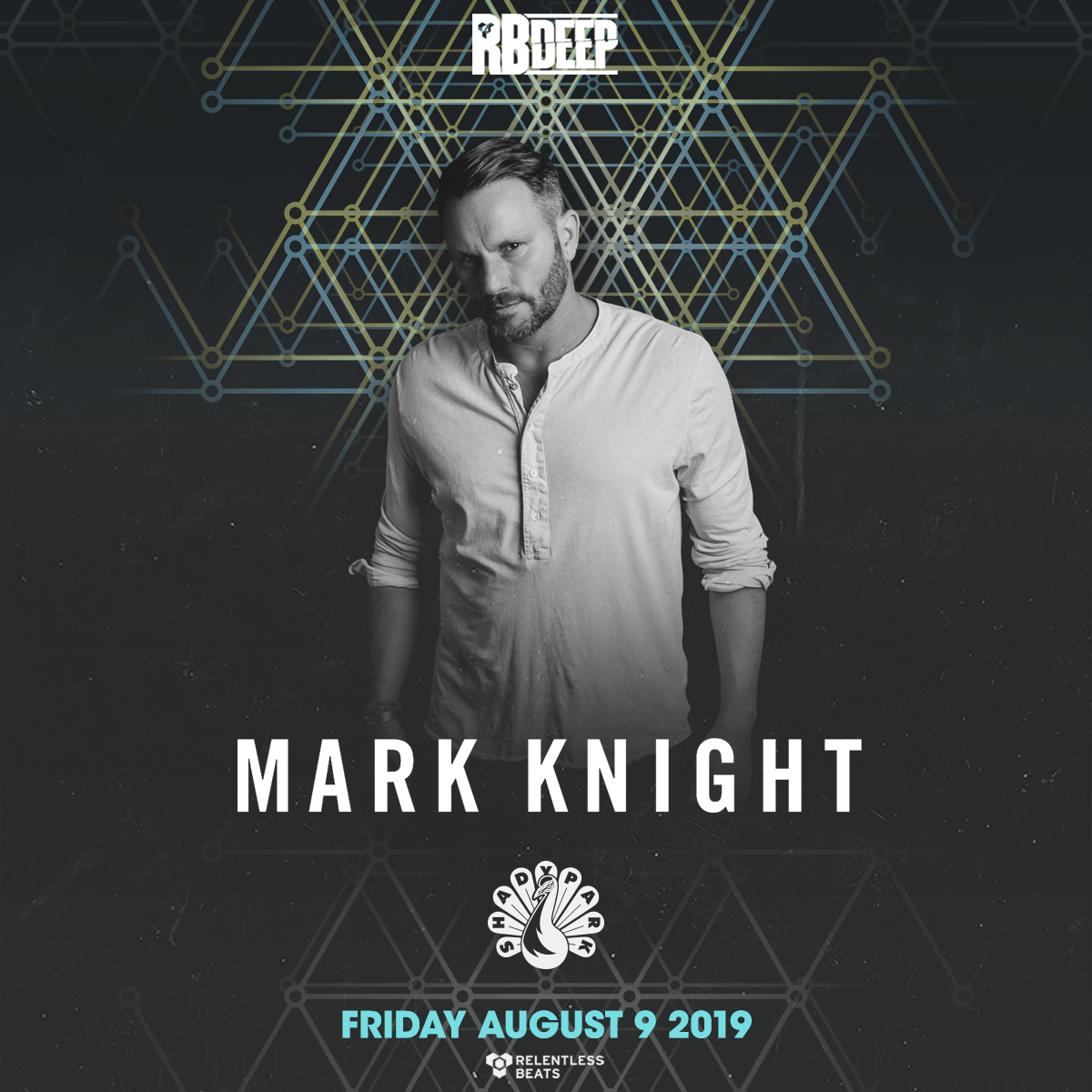 Flyer for Mark Knight