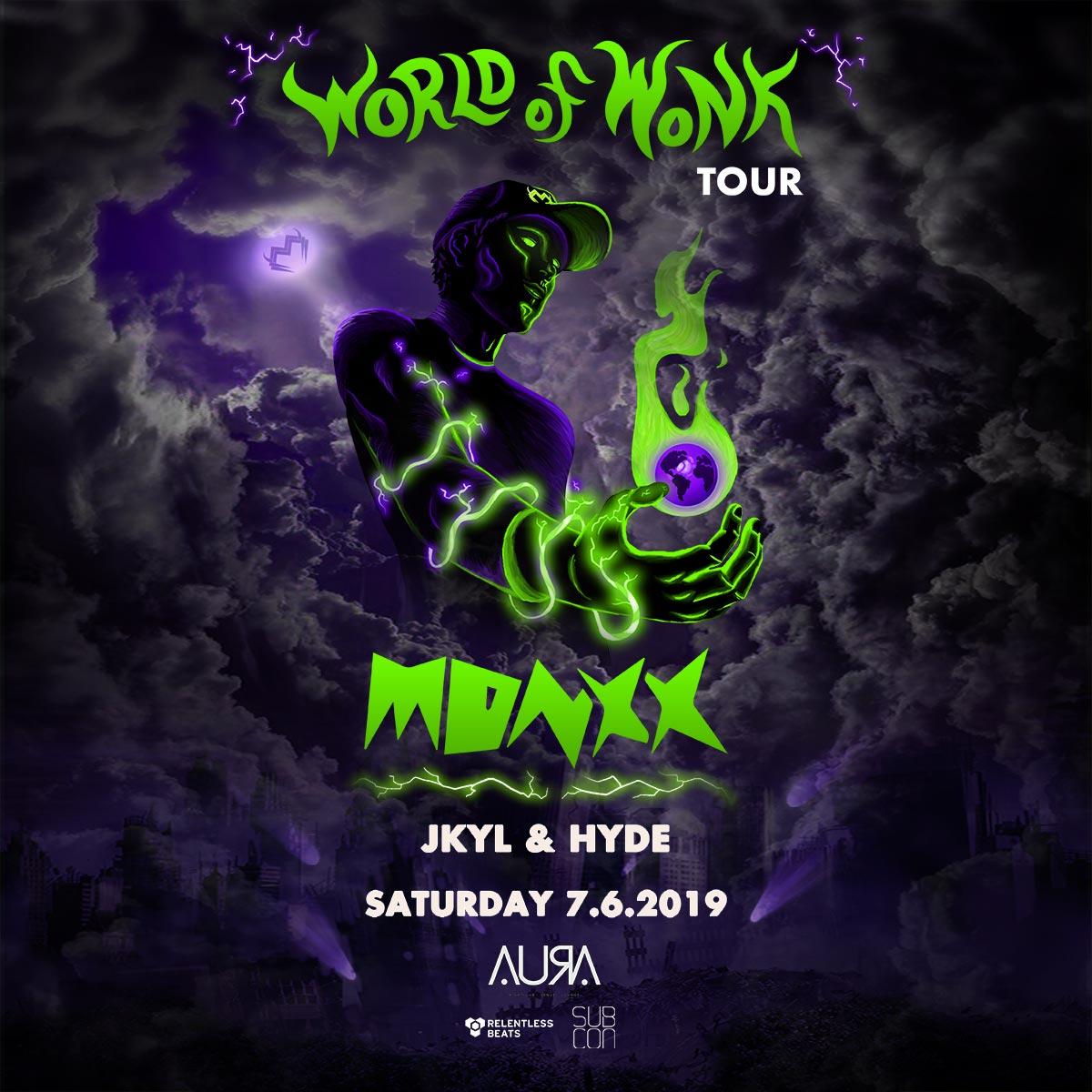 Flyer for Monxx
