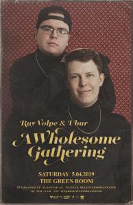 Ray Volpe & Ubur on 05/04/19