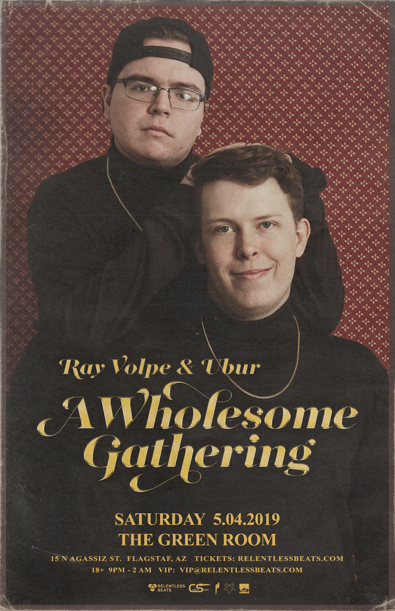 Flyer for Ray Volpe & Ubur
