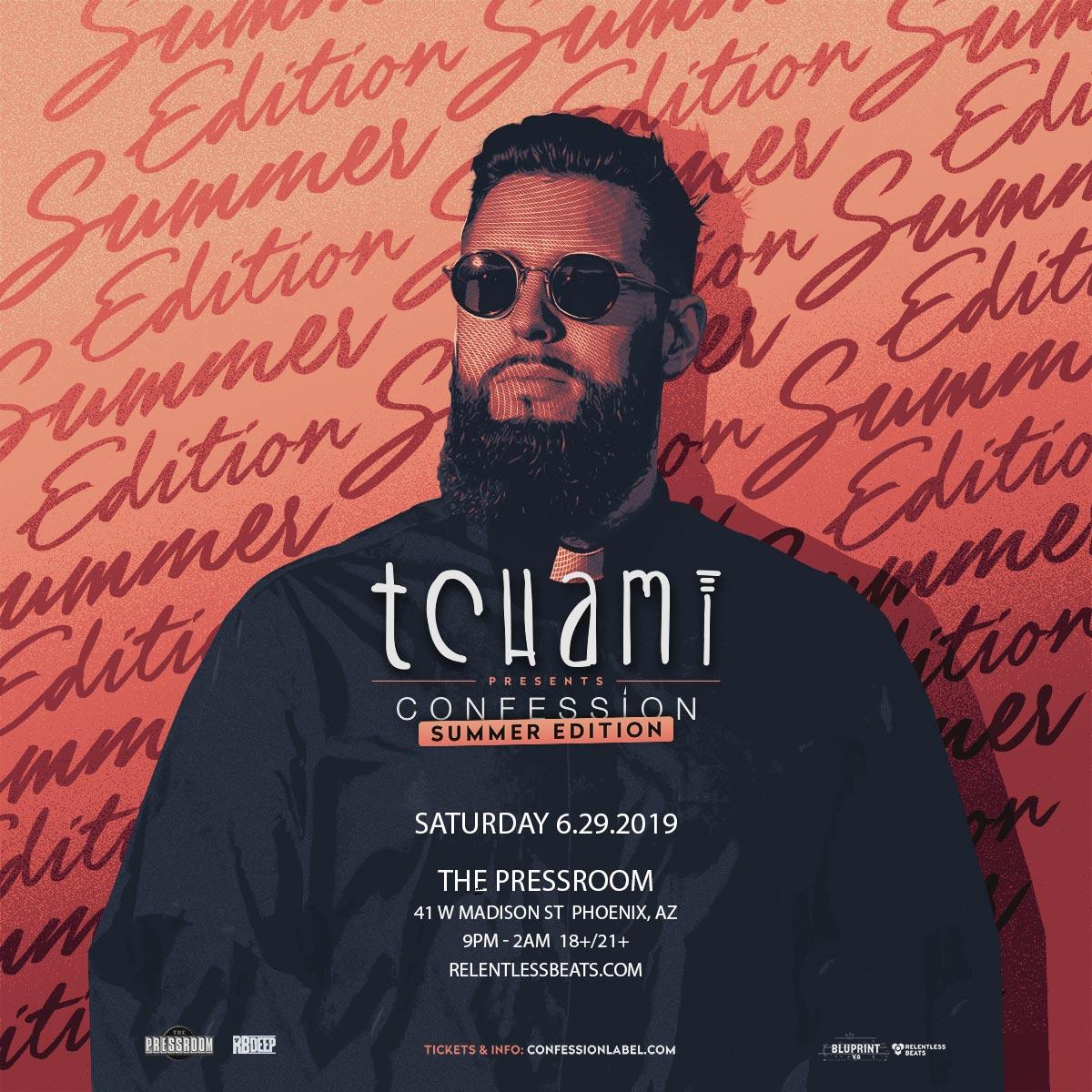 Flyer for Tchami