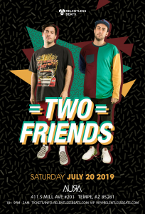 Two Friends on 07/20/19