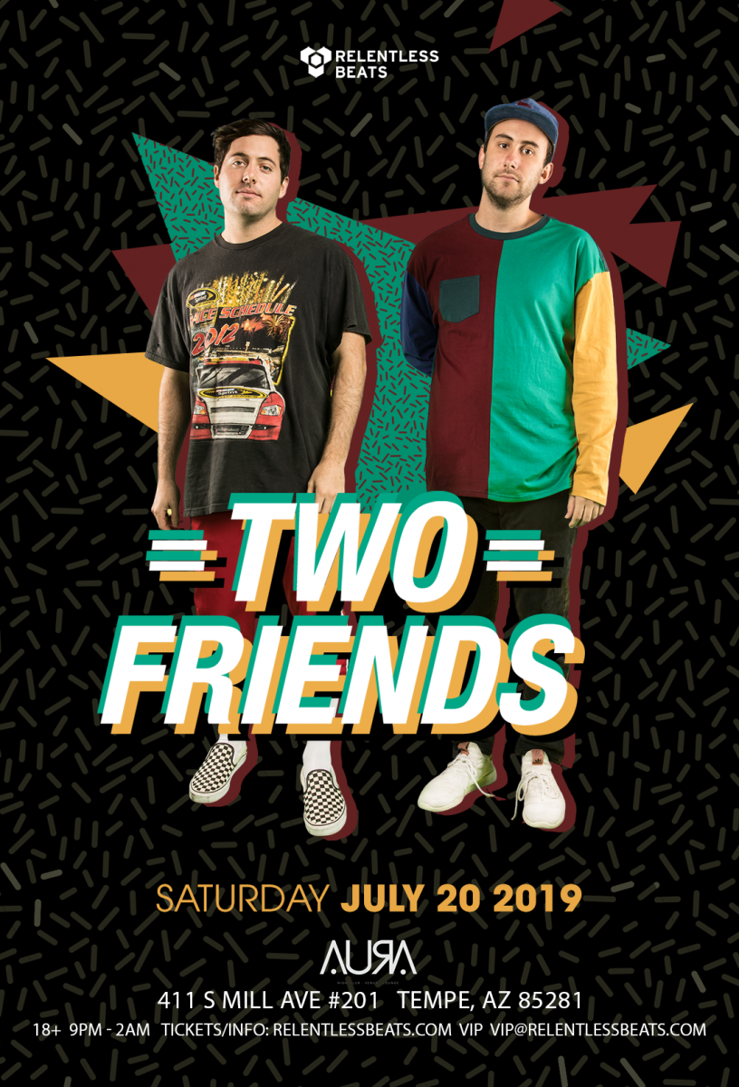 Flyer for Two Friends
